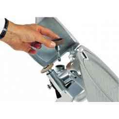 kit per affettatrice con lama inclusa per rgv mod. 250 dotati di aff. fisso