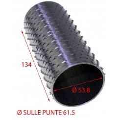 RULLO GRATTUGIA INOX DIM.61,5 X 134