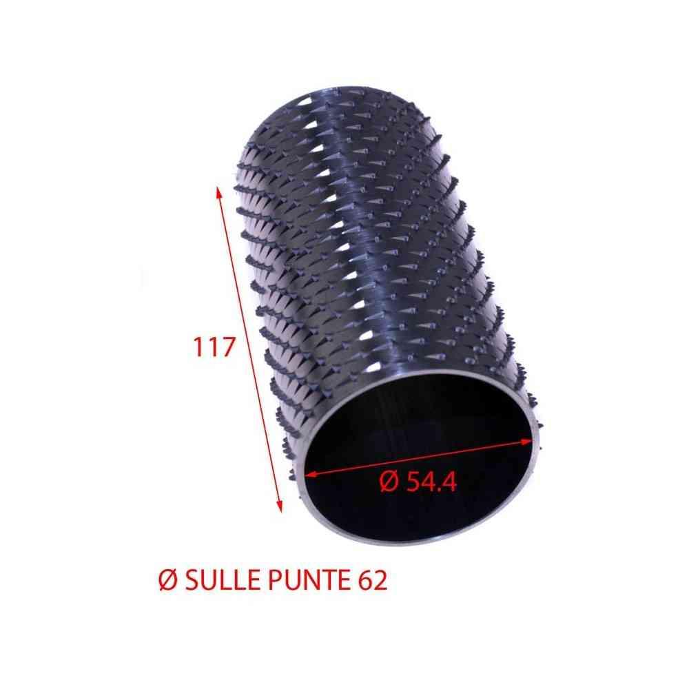 RULLO GRATTUGIA 62 X 117 INOX