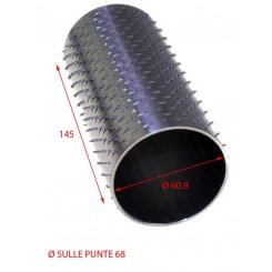 RULLO PER GRATTUGIA 69 X 145 IN ACCIAIO INOX