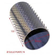 RULLO GRATTUGIA 74 X 133 INOX