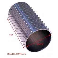 RULLO PER GRATTUGIA 76 X 138 IN ACCIAIO INOX