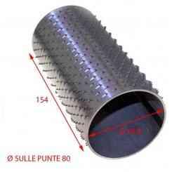 RULLO PER GRATTUGIA 79 X 154 IN ACCIAIO INOX