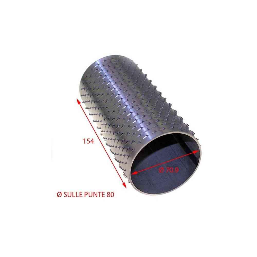 RULLO GRATTUGIA 79 X 154 INOX