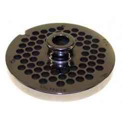 PIASTRA INOX PER TRITACARNE MOD. 12 FORO 6mm
