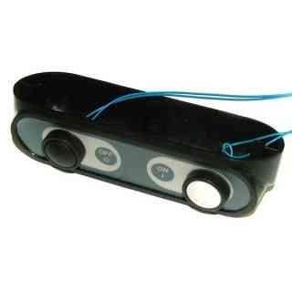 pulsantiera sirman ovale tasti plastica supporto 90° mod. dolomia-leonardo