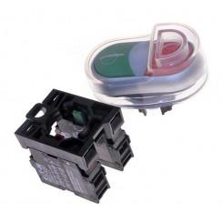 minerva pulsantiera 0-1 c/cappuccio tc