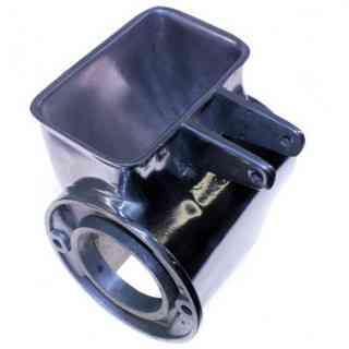 bocca in alluminio porta rullo modello 12