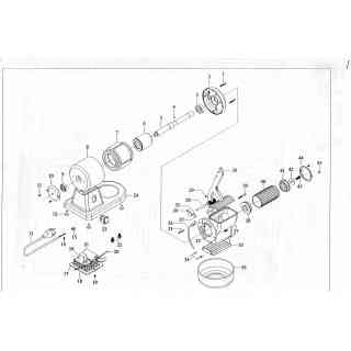 (24) base in alluminio x grattugia 8g/07