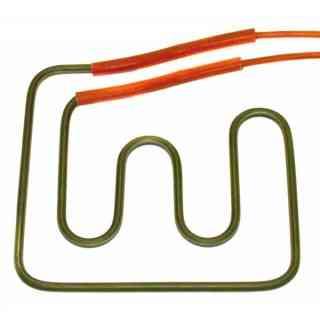 resistenza elettrica 750 w  220 v piu cavi piastra dim 190x175