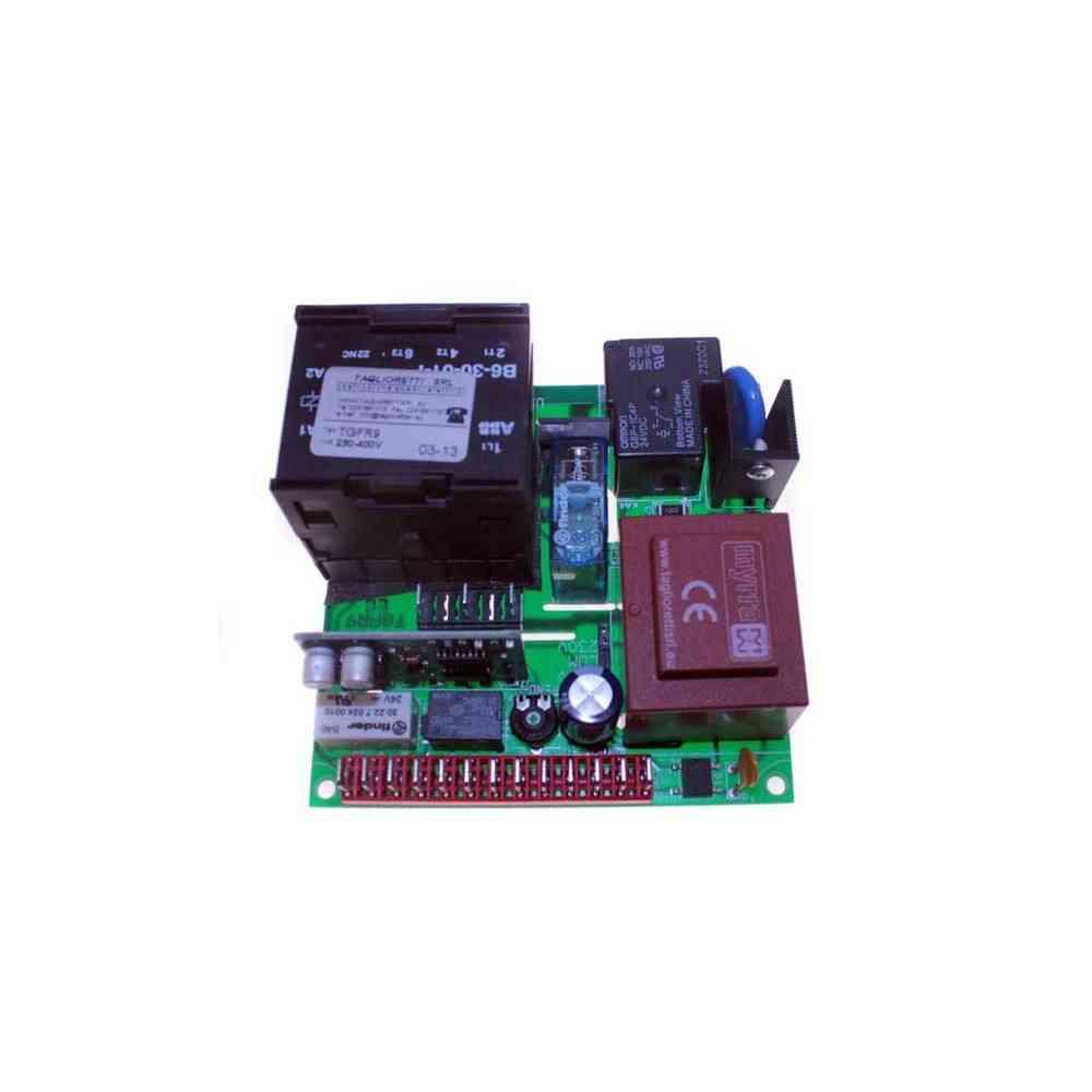 SCHEDA 220/380 C/FRENO 3CV TGFR9 DIM.102X102