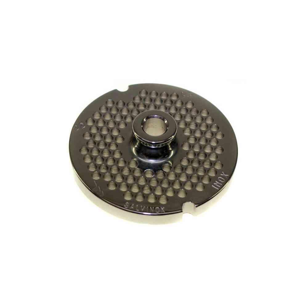 PIASTRA INOX MOD. 22 FORI 4,5/6/8 MM SLX 2 CAVE