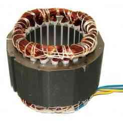 avvolgimento statore pacco 50 altezza lamellare 50mm 230v diametro esterno 110mm