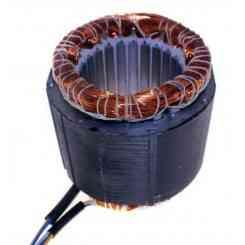 avvolgimento statore pacco 70 altezza lamellare 70mm 380volt diametro esterno 110mm