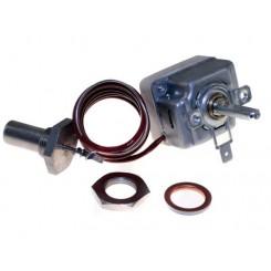 termostato regolabile monofase a bottone temperatura 70 - 180° c