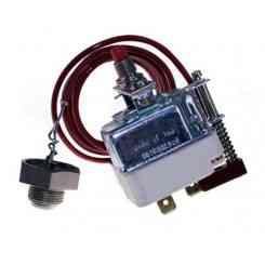 termostato di sic. monofase 320 °c bulbo a bott con ripristino manuale