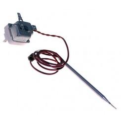 termostato monofase temperatura fissa 55 +/- 3° c lunghezza cap 900 d bulbo 6