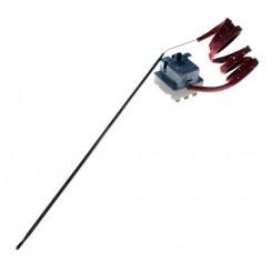 termostato di sicurezza trifase 420°c bulbo 4 / 310 capillare 1000