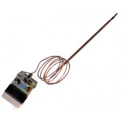 termostato regolabile monofase temperatura 0 - 300°c capill 1000 bulbo d 3 x200