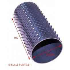 RULLO PER GRATTUGIA 81 X 160 IN ACCIAIO INOX