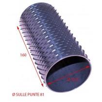 RULLO GRATTUGIA 81 X 160 INOX