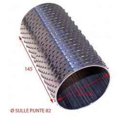 RULLO PER GRATTUGIA 82 X 147 INACCIAIO INOX