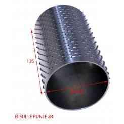 RULLO PER GRATTUGIA 84 X 135 IN ACCIAIO INOX