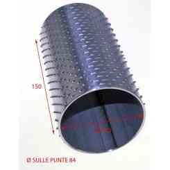 RULLO PER GRATTUGIA 84X150 IN ACCIAIO INOX