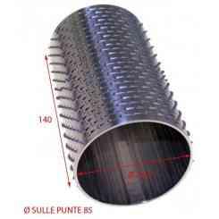 RULLO PER GRATTUGIA 86 X 140 IN ACCIAIO INOX