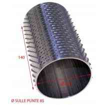 RULLO GRATTUGIA 86 X 140 INOX