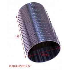 RULLO PER GRATTUGIA 87 X 145 IN ACCIAIO INOX