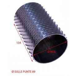 RULLO PER GRATTUGIA 89 X 134 IN ACCIAIO INOX