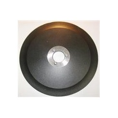 LAMA PER AFFETTATRICE 250 diametro 25cm /40/3/210/17,5 PTFE PELTRO SCURO (TEFLONATA) MATERIALE C45
