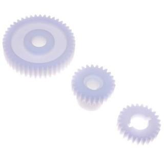 serie 3 ingranaggi plastica mod. mr 220 cod. krmn-a13