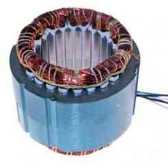 avvolgimento statore pacco 60 pacco lamellare altezza 60mm 380 volt diametro esterno 110mm