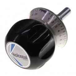 manopola orologio in plastica per modello dual affettatrice kolossal