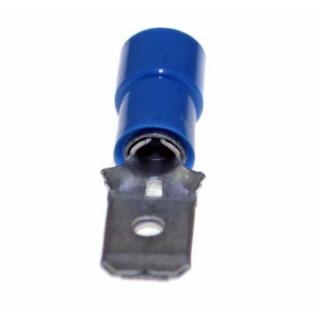 faston capocorda maschio blu 6.5 mm 50 pezzi
