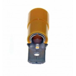 FASTON CAPOCORDA MASCHIO GIALLO 6.5 mm 50 PEZZI