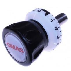 manopola orologio perno d.18 mm omas