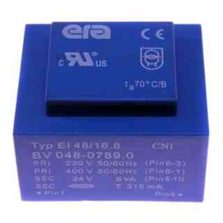 trasformatore 230/400v 24v 8va