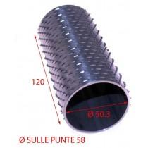 RULLO GRATTUGIA 58X120 INOX