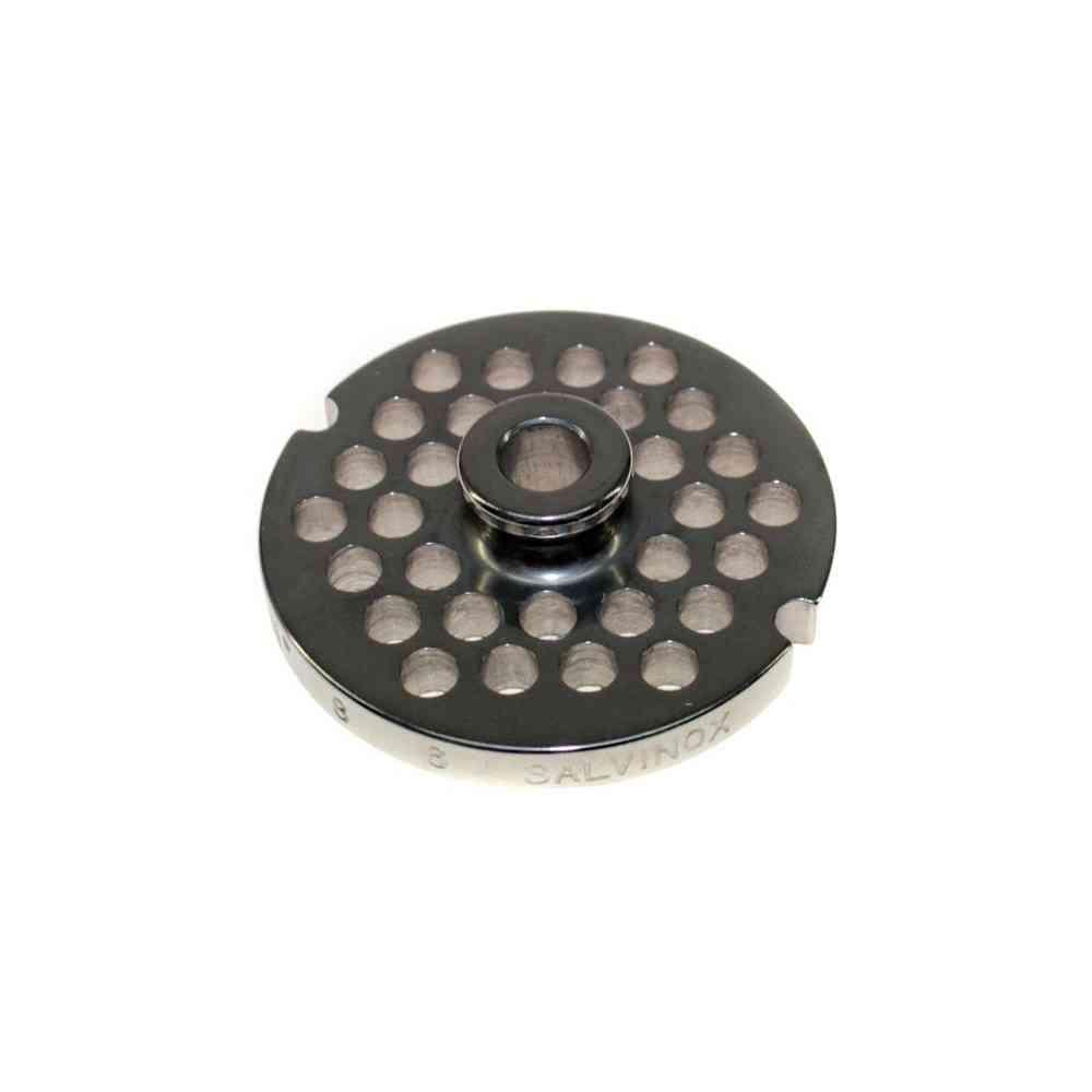 PIASTRA INOX PER TRITACARNE MOD. 8 FORO 6mm