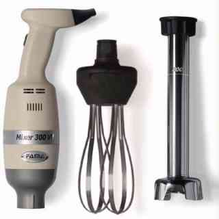 mixer300w - linea light - vel. variabile combi frusta e mescolatore da 300/400/500 mm
