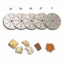 dischi per sfilacciare e grattuggiare pane e formaggio prezzo singolo pezzo