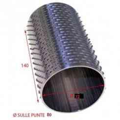 RULLO PER GRATTUGIA 80 X 140 INOX