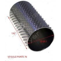 RULLO GRATTUGIA 76X140 INOX