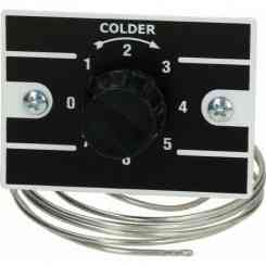 termostato ranko range +0.5/+12.5°c contatti 2 volt 250 a 6a ø albero 6x4.6