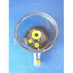vaschetta separatore di polpa per estrattore juice art plus e muscle rgv