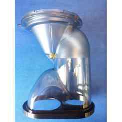 coperchio con chiusura per estrattore juice art plus rgv e muscle