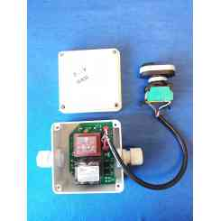 centralina con pulsantiera e scatola 230 volt monofase